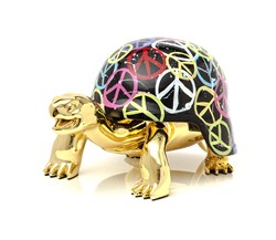 World Peace by Diederik Van Apple - Resin Sculpture sized 16x10 inches. Available from Whitewall Galleries